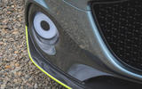 Aston Martin Rapide AMR 2019 first drive review - foglights