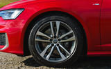 Audi A6 2019 road test review - alloy wheels