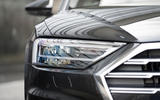 Audi A8 60 TFSIe 2020 road test review - headlights