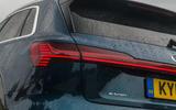 Audi E-tron 55 Quattro 2019 road test review - rear lights