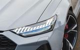 Audi RS6 Avant 2020 road test review - headlights