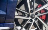 Audi S3 Sportback 2020 road test review - alloy wheels