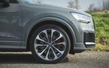 Audi SQ2 2019 road test review - alloy wheels