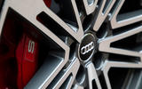 Audi SQ5 TDI 2020 road test review - brake calipers