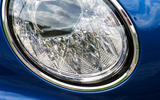 Bentley Continental GT 2018 Autocar road test review lights detail