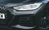 5 BMW 4 Series M440i road test review 2021 headlights