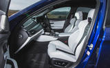 BMW M5 2018 review cabin