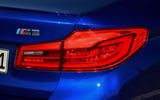 BMW M5 2018 review rear lights