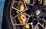 BMW M8 Competition coupe 2020 road test review - brake calipers