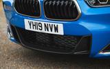 BMW X2 M35i 2019 road test review - front bumper