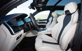 BMW X5 M Competition 2020 road test review - cabin
