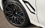 BMW X6 M Competition 2020 road test review - alloy wheels