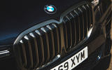 BMW X7 2020 road test review - nose