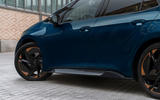 5 Cupra Born 2021 first drive review side skirts