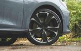 Cupra Leon 2020 road test review - alloy wheels