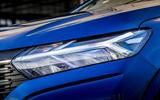 5 dacia sandero tce 90 2021 uk first drive review headlights