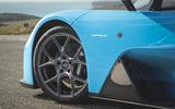 Dallara Stradale 2019 road test review - alloy wheels