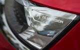 DS 7 Crossback 2018 road test review headlight logo