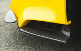 Ferrari 488 Pista 2019 road test review - front splitter