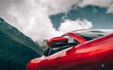 Ferrari Roma 2020 road test review - wing mirror