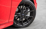 Ford Focus RS 2019 road test review - alloy wheels