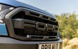 Ford Ranger Raptor 2019 road test review - front grille