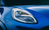 5 Ford Puma ST 2021 road test review headlights