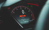 Honda Civic Type R 2019 road test review - instruments