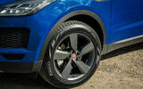 Jaguar E-Pace review alloy wheels