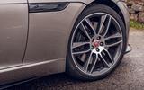 Jaguar F-Type 2020 road test review - alloy wheels
