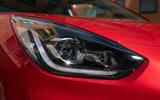 5 Kia Niro 2021 road test review headlights