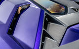 Lamborghini Aventador SVJ 2019 road test review - engine slats
