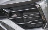 Lamborghini Urus 2019 road test review - front bumper