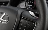Lexus UX 2019 road test review - steering wheel