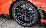 McLaren 765LT 2020 road test review - alloy wheels