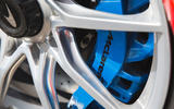 McLaren Senna 2018 road test review - brake calipers