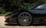 McLaren Speedtail 2020 UK first drive review - alloy wheels