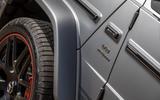 Mercedes-AMG G63 2018 review V8 badge