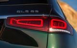 Mercedes-AMG GLS 63 2020 road test review - rear lights