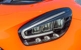 Mercedes-AMG GT Black Series road test review - headlights