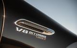 Mercedes-AMG GT four-door Coupé 2019 road test review - front quarter