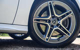 Mercedes-Benz A250e 2020 road test review - alloy wheels