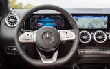Mercedes-Benz B-Class review - steering wheel