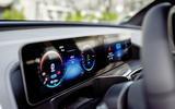 Mercedes-Benz ECQ 2019 review - instruments