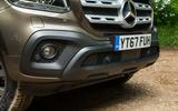 Mercedes-Benz X-Class road test review foglights