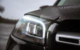 Mercedes-Benz GLS 2020 road test review - headlights