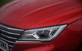 MG 5 SW EV 2020 Road test review - headlights