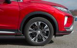 Mitsibushi Eclipse Cross 2018 review wheels