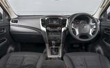 Mitsubishi L200 2019 road test review - dashboard