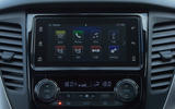 Mitsubishi Shogun Sport 2018 road test review infotainment